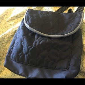 thirty-one Bags - Black Circle Satchel Purse Backpack 31 Thirty One